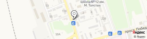Ритуальные услуги, магазин на карте Иловайска