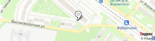Магазин хозяйственных товаров на карте Раменского