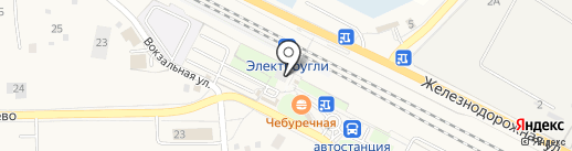Магазин кондитерских изделий на карте Электроуглей