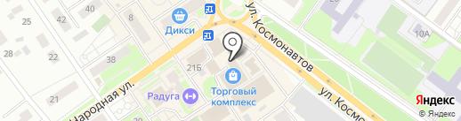 Жуковский хлеб на карте Раменского
