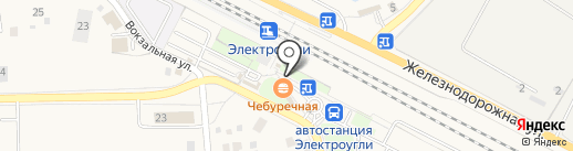 Киоск печатной продукции на карте Электроуглей