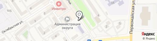 Купеческая лавка на карте Лосино-Петровского