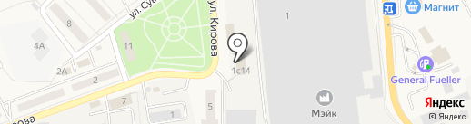 ОРЛАН на карте Лосино-Петровского