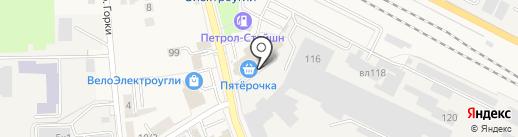 Радуга Синтез на карте Электроуглей