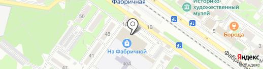 Раменский хлеб на карте Раменского
