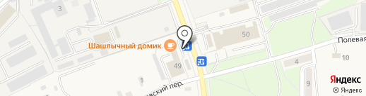 Шашлычный домик на карте Электроуглей