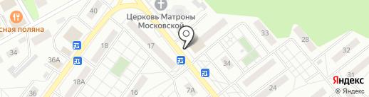 Кредит Пилот на карте Раменского