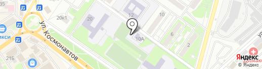 Бик на карте Раменского