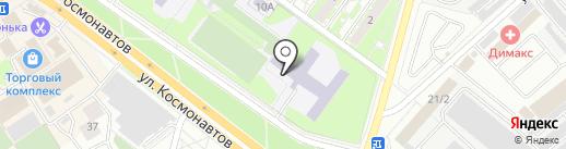 Гимназия №7 на карте Раменского
