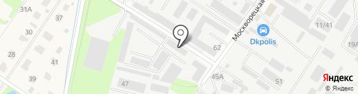 Компания Голубая стрела на карте Раменского