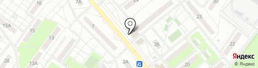 Метроном ИК на карте Раменского