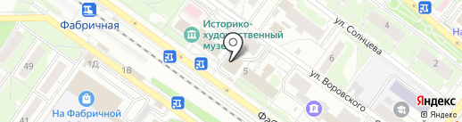 L`ОБУВЬ на карте Раменского