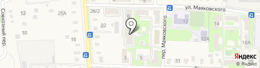 Ремонтная компания на карте Электроуглей