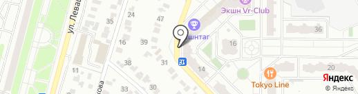 Жива на карте Раменского