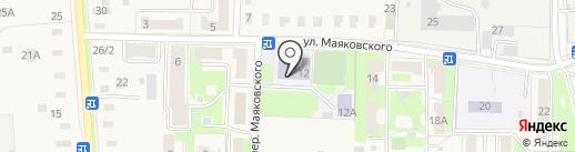 Средняя общеобразовательная школа №30 на карте Электроуглей