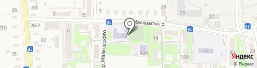 АНСИНКАЙ на карте Электроуглей