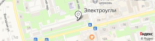 Банкомат, Московский кредитный банк, ПАО на карте Электроуглей