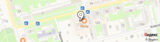 ОРЛАН на карте Электроуглей