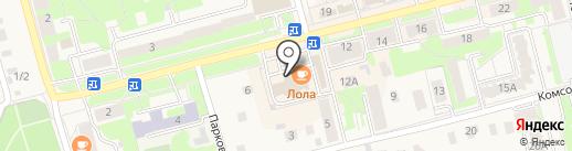 Магазин электротоваров на карте Электроуглей