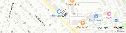 Магазин игрушек на карте Раменского