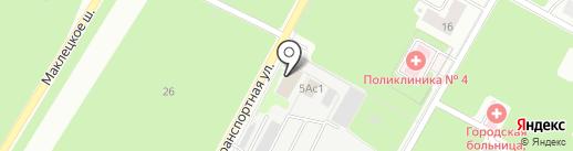Электроцентрмонтаж на карте Новомосковска