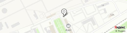 Банкомат, Среднерусский банк Сбербанка России на карте Новомосковска
