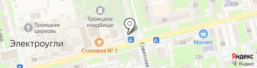 Парсек на карте Электроуглей