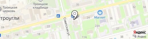 Окраина на карте Электроуглей