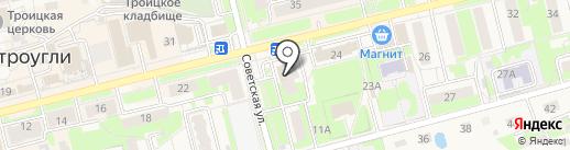 Банкомат, Почта Банк, ПАО на карте Электроуглей