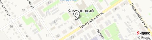 Банкомат, Среднерусский банк Сбербанка России на карте Каменецкого