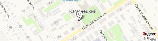 Рассвет на карте Каменецкого