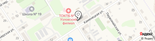 Амбулатория на карте Каменецкого