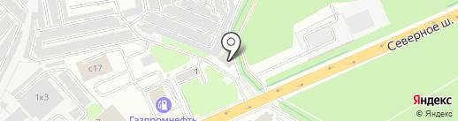 Уголовно-исполнительная инспекция Управления ФСИН России по Московской области на карте Раменского