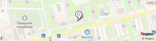 Нотариус Ковалева Т.И. на карте Электроуглей