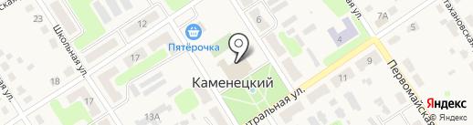 Центр культуры и досуга на карте Каменецкого