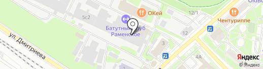 МУЗШОП.РФ на карте Раменского
