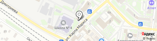 СДМ-Банк, ПАО на карте Раменского