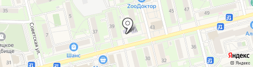 Электроуглинская детская музыкальная школа на карте Электроуглей