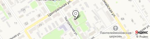 Социально-реабилитационный центр для несовершеннолетних на карте Каменецкого