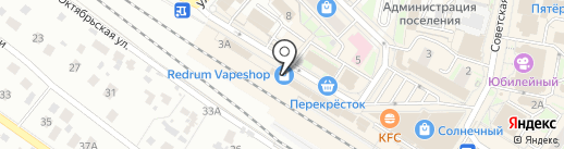 Магазин штор на карте Раменского