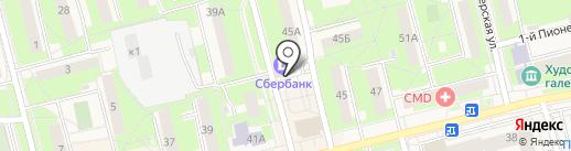 Банкомат, Сбербанк, ПАО на карте Электроуглей