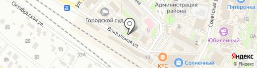 Министерство природных ресурсов и экологии РФ на карте Раменского