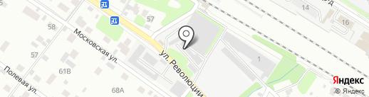 Янтарь на карте Раменского