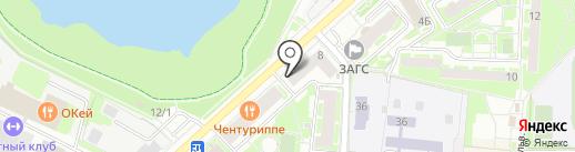 Единая Россия на карте Раменского
