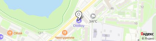 Алмаз-Холдинг на карте Раменского