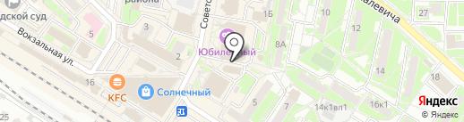 Адвокатский кабинет Бородина Н.В. на карте Раменского