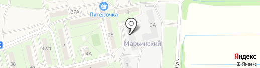 Марьинский на карте Электроуглей