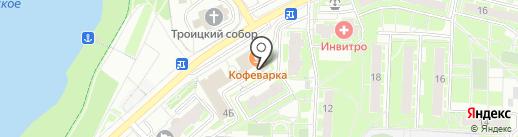 Ветеринарная клиника на карте Раменского