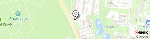 Dis-Market на карте Раменского