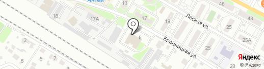 Магазин текстильной продукции на карте Раменского